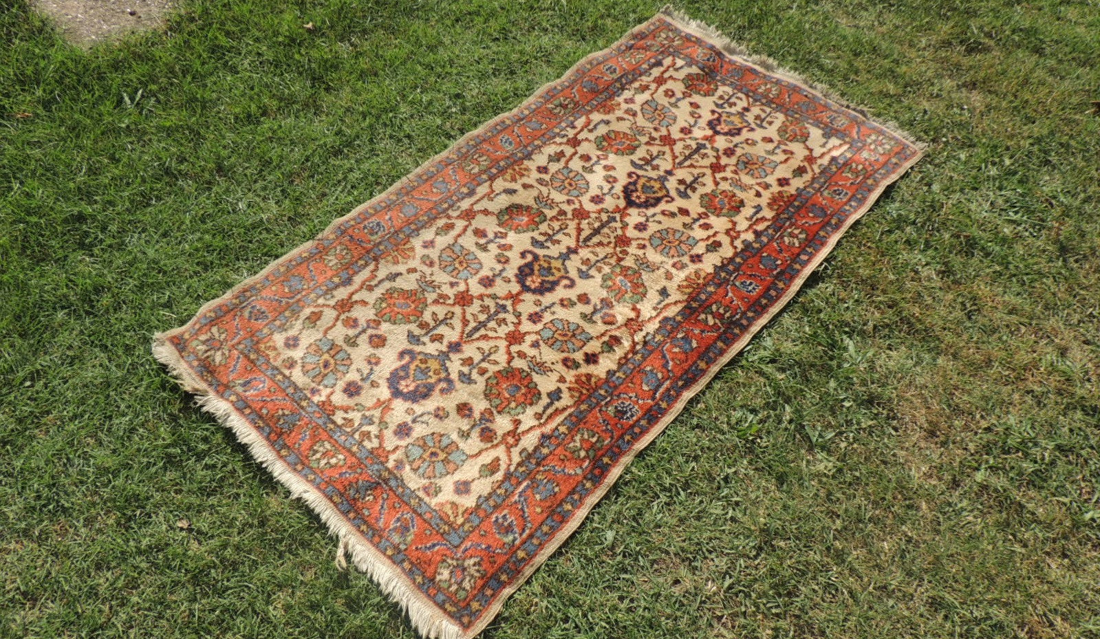 Floral Turkish Carpet with Oriental Design - bosphorusrugs  - 1