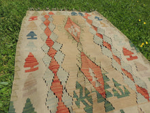 "Turkish kilim rug ""Oushak"" - bosphorusrugs  - 7"
