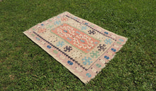 Semi antique Kayseri kilim - bosphorusrugs  - 1
