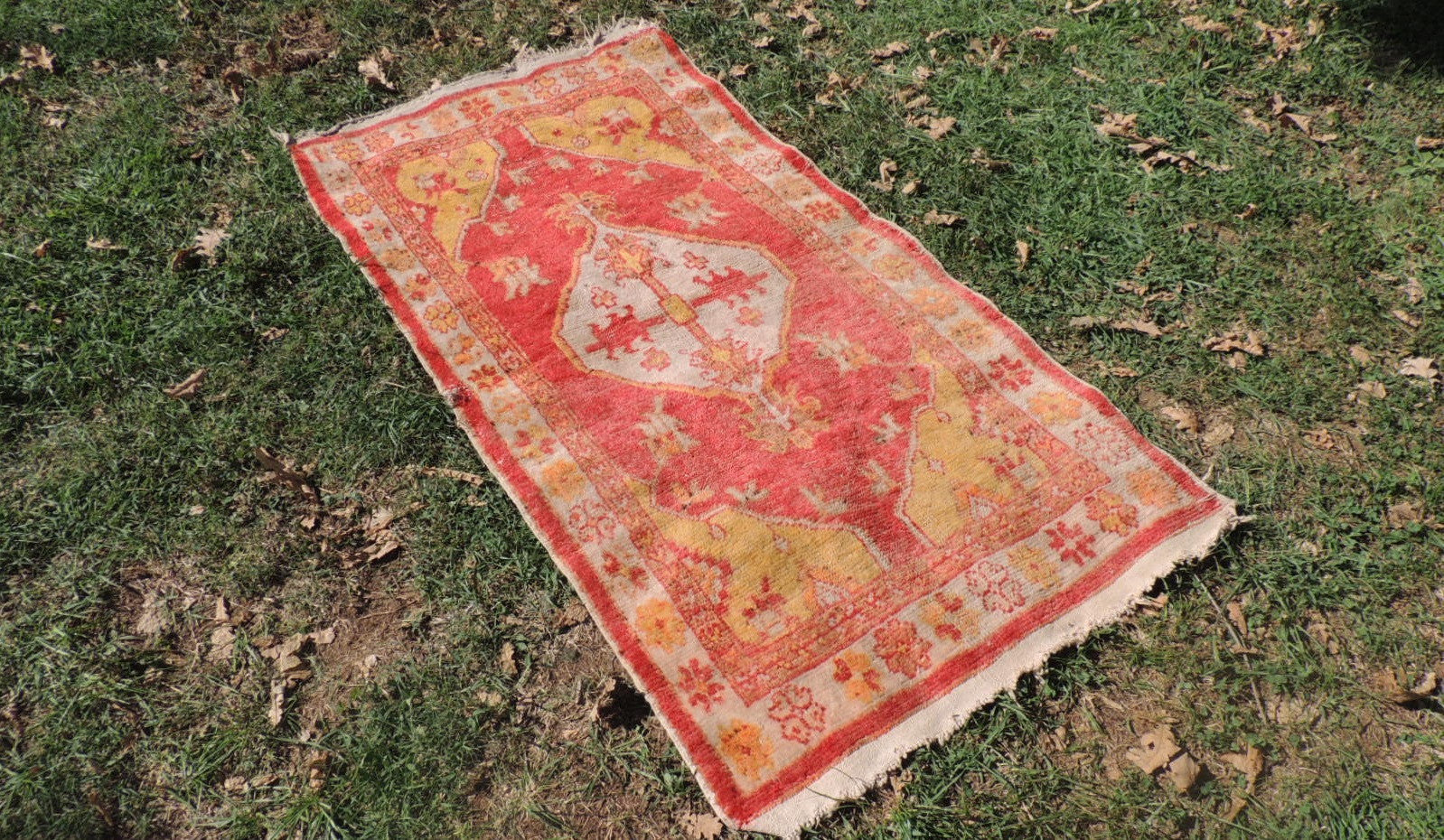 Handmade wool Turkish floor rug - bosphorusrugs  - 1