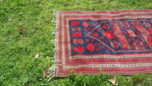 Yaghdjibedir Carpet Red and Navy Colour Area Rug