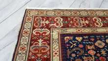 Antique Quality Caucasian Area Rug 3,9x5,7 ft.