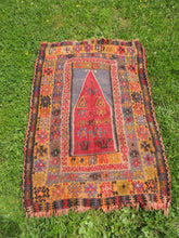 Wool handwoven Turkish kilims