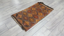 Worn Tribal Kilim
