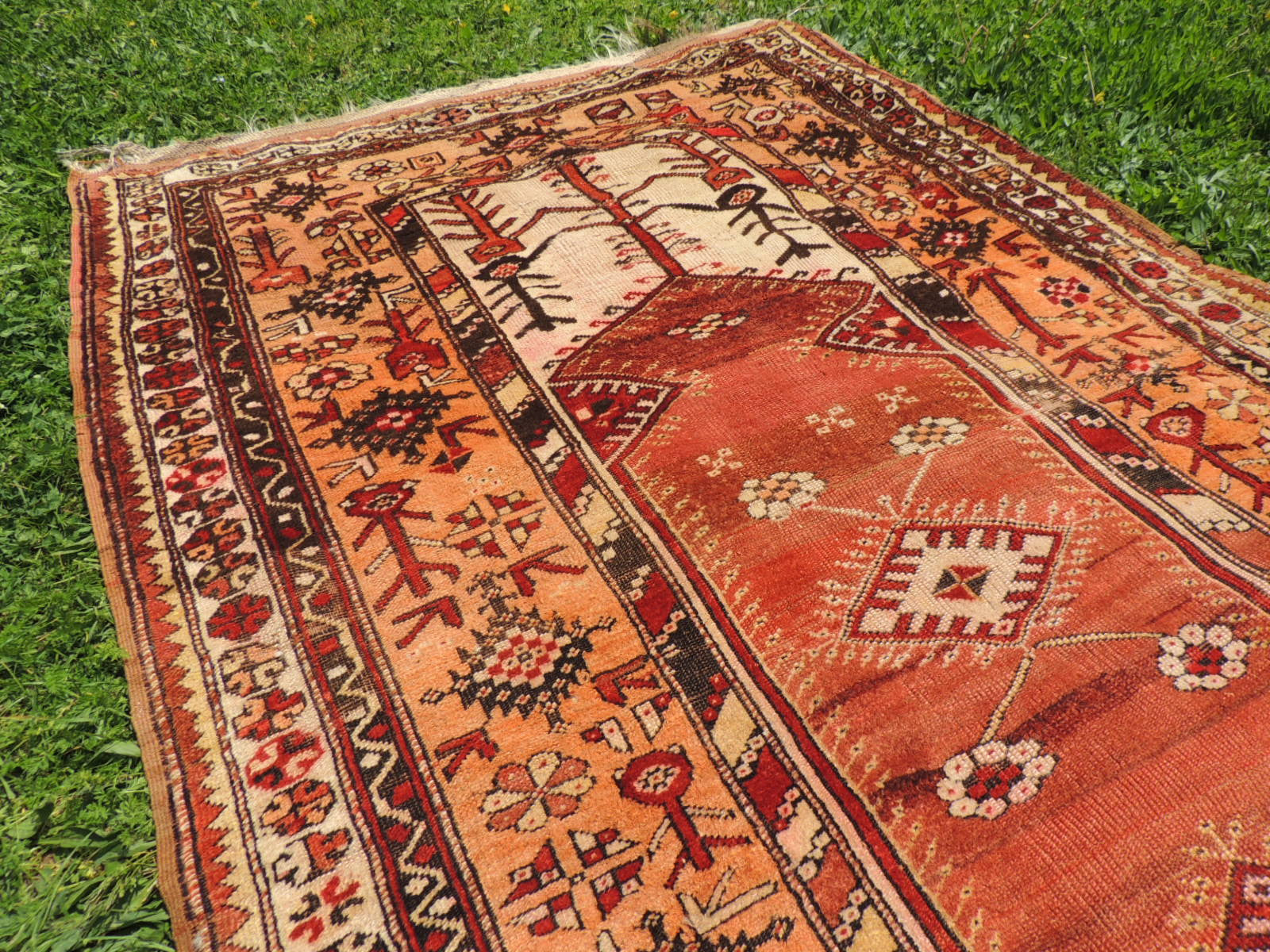 pinterest prayer konya on best tribal rugs images pages rug turkish nazmiyal antique