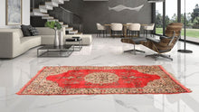 """Chanakkale"" Turkish Carpet with Lovely Retro look"