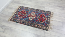 Vintage Turkish Rug Blueberry