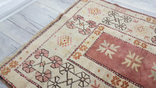 Pastel Turkish Milas Carpet