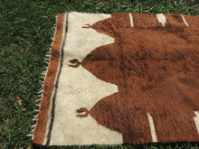 Goat Hair Shaggy Siirt Kilim Rug also known as Siirt Blanket $99