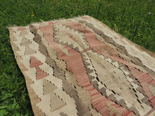 "Vintage Turkish kilim ""coffee"" - bosphorusrugs  - 2"