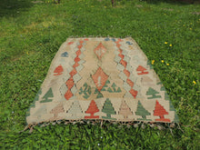 "Turkish kilim rug ""Oushak"" - bosphorusrugs  - 3"