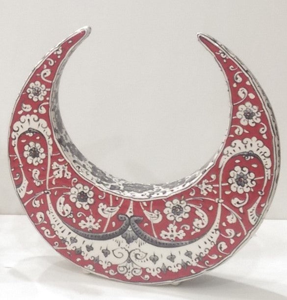 Ceramic Decorative Crescent SCR-001