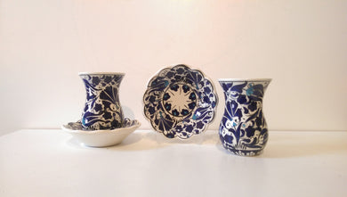 Ceramic Turkish Tea Set 009