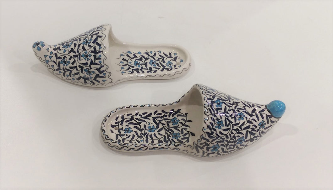 Decorative Ceramic pair of Sandals 003