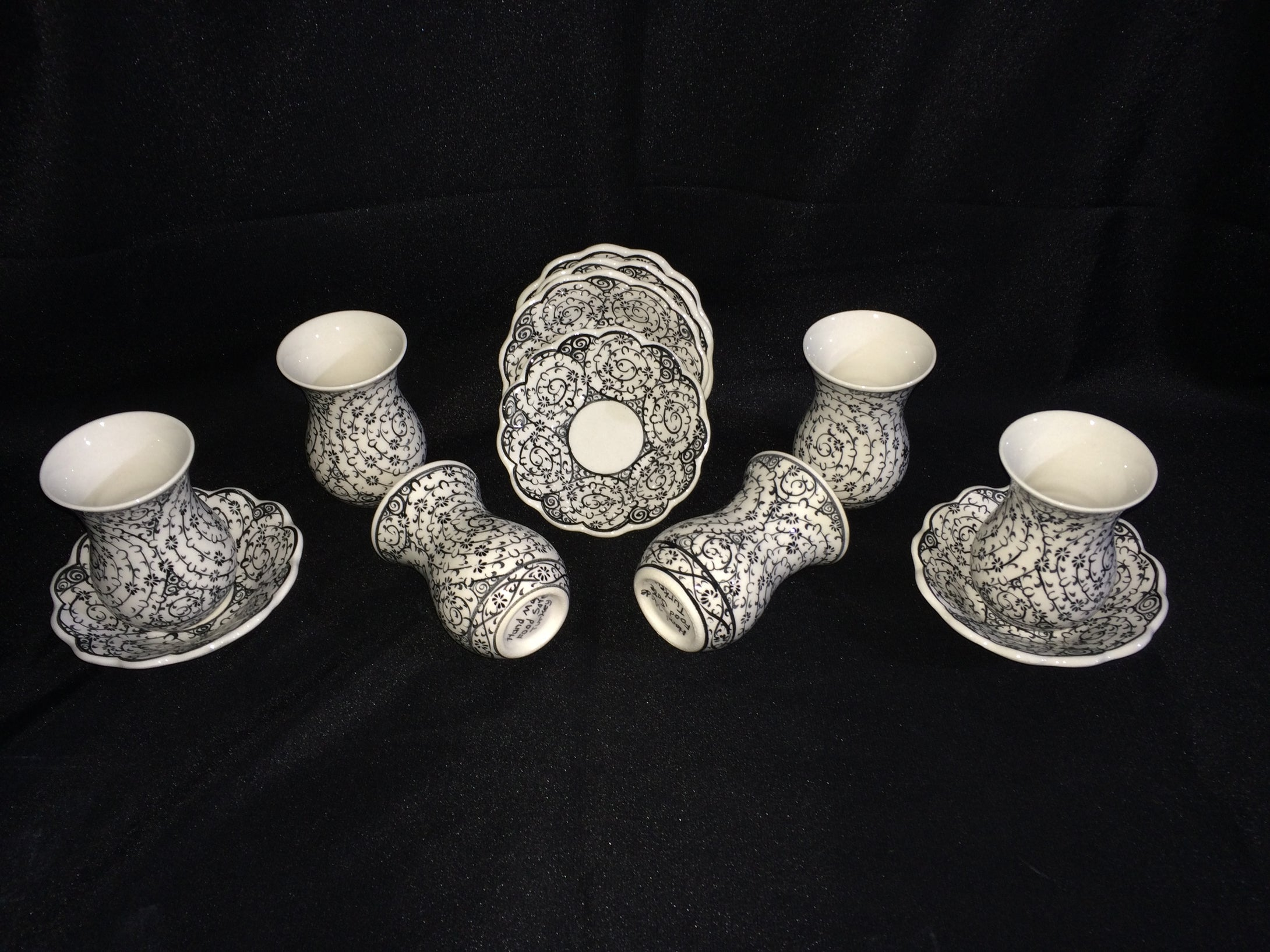 Ceramic Turkish Tea Set 007
