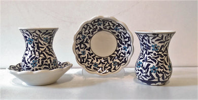 Ceramic Turkish Tea Set 006