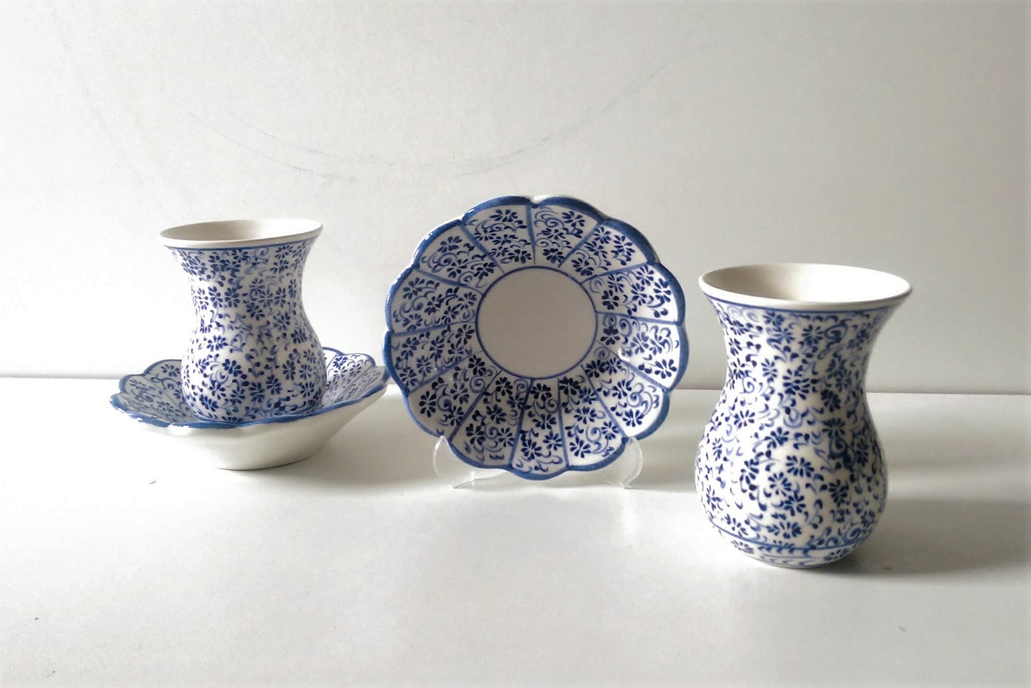Ceramic Turkish Tea Set 004