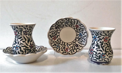 Ceramic Turkish Tea Set 005