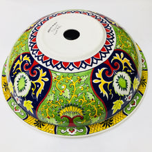 Hand Painted Ceramic Sink SS-010