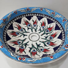 Hand Painted Ceramic Sink SS-014