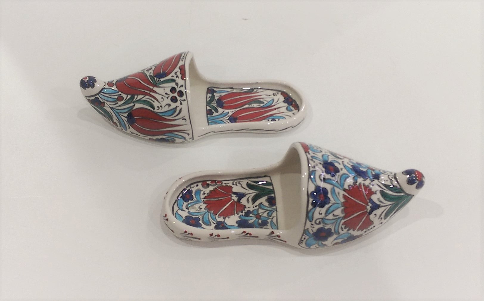 Decorative Ceramic pair of Sandals 004