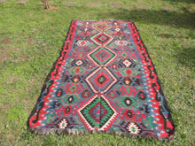 Tribal Turkish kilim rug on sale