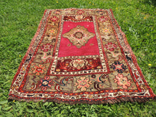 "Vintage ""Sivas"" Turkish area rug - bosphorusrugs  - 2"