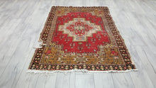 Hand Knotted Turkish Brunguz Area Rug from Central Turkey