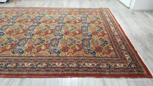 Large Persian Red Area Rug 7,8x11,8 ft. Fine Rug