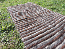 Striped Goat Hair kilim - bosphorusrugs  - 2