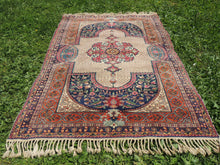 Antique Turkish Kayseri area rug - bosphorusrugs  - 5