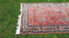 Vintage Light Pink Turkish Rug