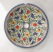 Hand Painted Ceramic Sink SS-015
