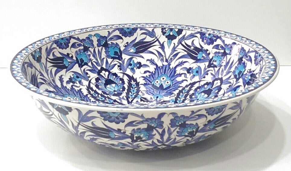Hand Painted Ceramic Sink SS-021