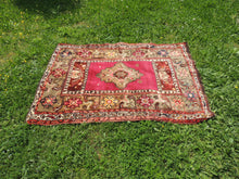 "Vintage ""Sivas"" Turkish area rug - bosphorusrugs  - 3"