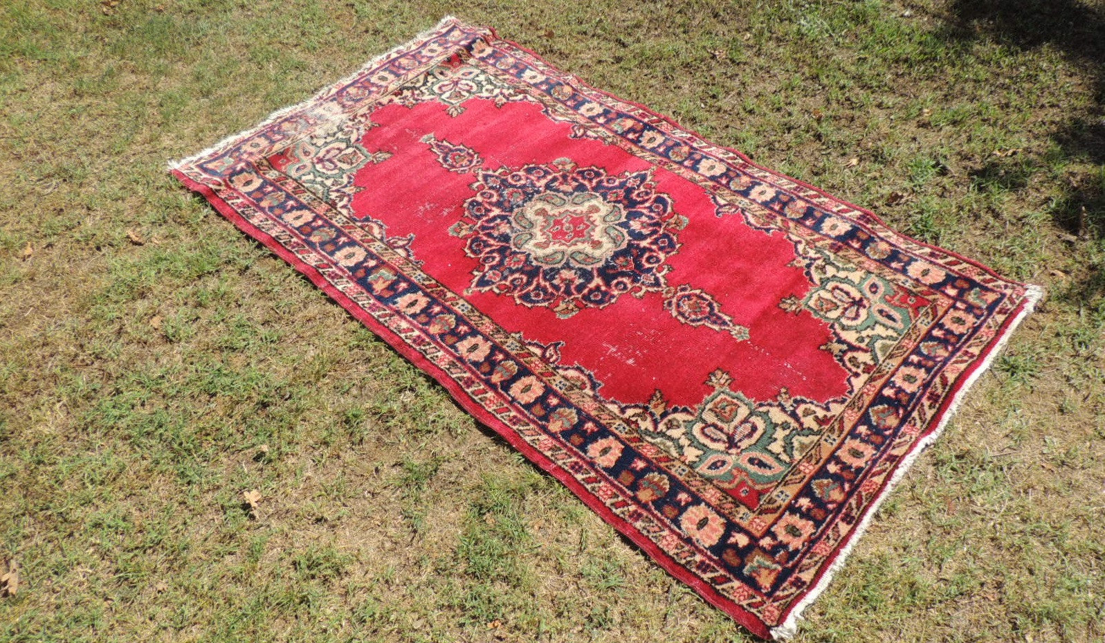 Turkish Area Rug with Classy Vintage Look from Midwest Turkey