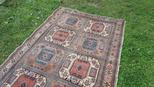 Kazakh Design Turkish Area Rug from Kayseri ON SALE