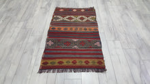 Tribal Kilim 2,6x4,4 ft.
