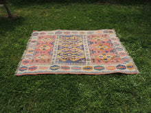"""Aegean"" Turkish kilim rug 5x7 - bosphorusrugs  - 2"