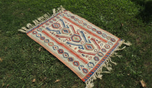"Turkish Kilim Rug from ""Smyrna"" with Fine Quality"