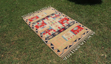 80's modern style Turkish area rug - bosphorusrugs  - 1