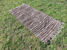Striped Goat Hair kilim - bosphorusrugs  - 3