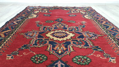 4x7 ft. Beautiful Turkish Area Rug from Midwest Turkey