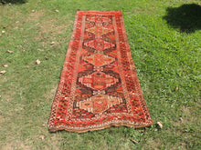 Antique Persian Runner Rug with Amazing Details
