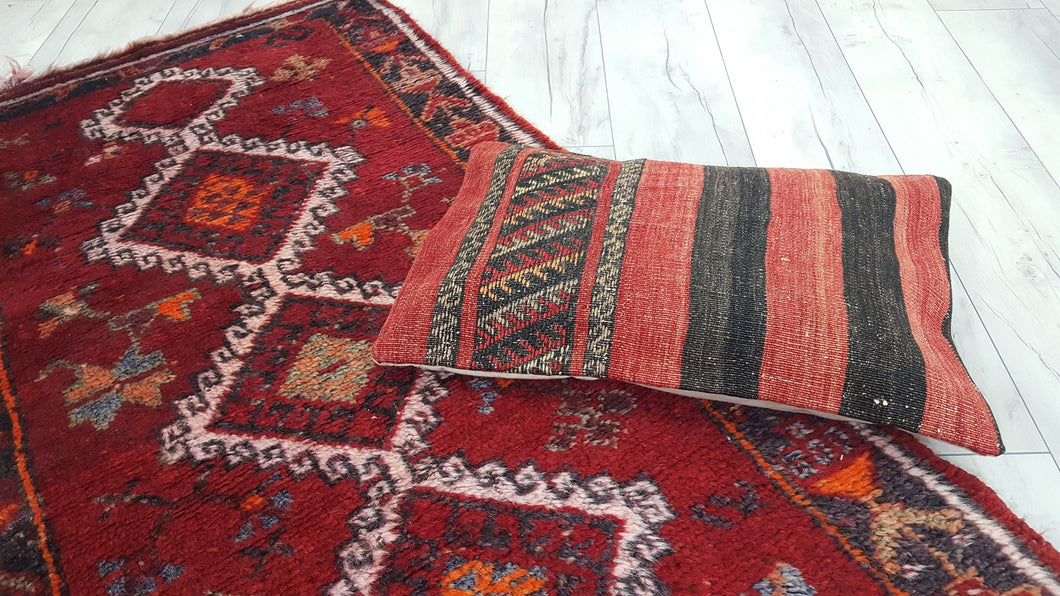 Red Tribal Persian Rug