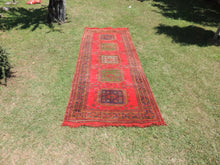 Red Turkish runner rug - bosphorusrugs  - 2