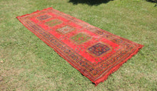 Red Turkish runner rug - bosphorusrugs  - 1