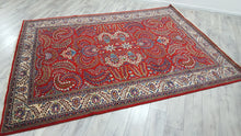 7,5x10 ft. Persian Rug Top Quality Weaving Red Carpet