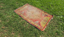 Worn small size area rug - bosphorusrugs  - 1
