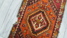 Small Turkish Rug Yastik